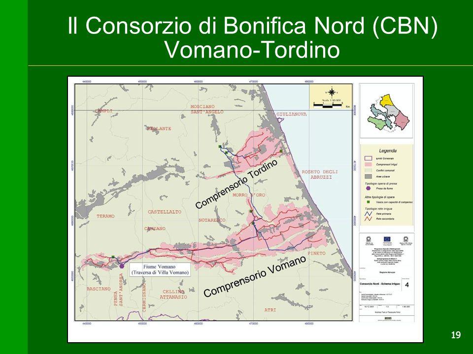 19 Il Consorzio di Bonifica Nord (CBN) Vomano-Tordino