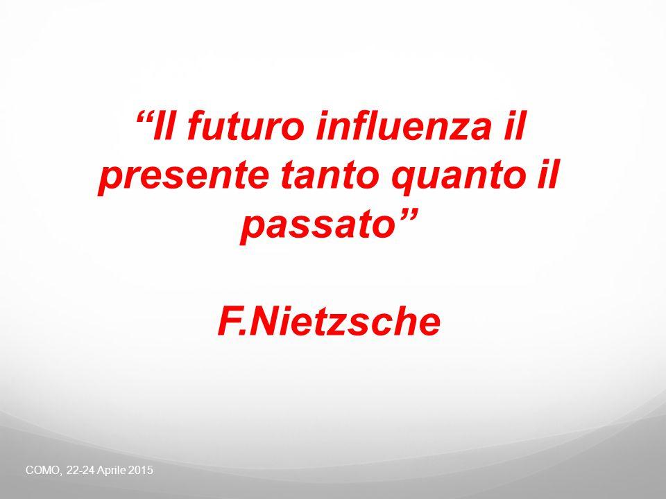 """COMO, 22-24 Aprile 2015 """"Il futuro influenza il presente tanto quanto il passato"""" F.Nietzsche"""