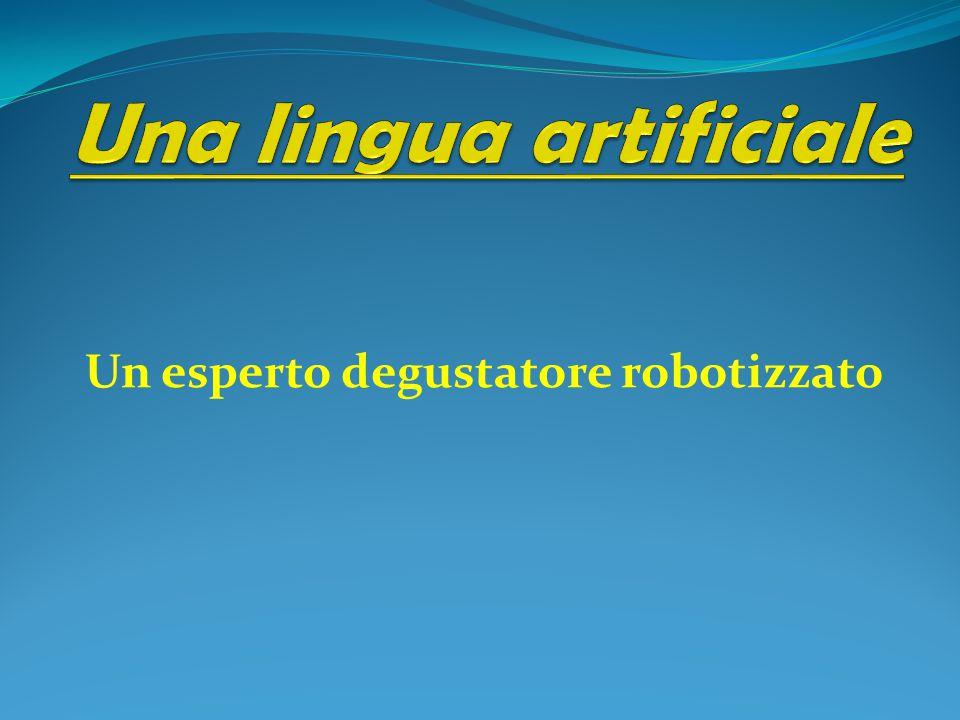 Un esperto degustatore robotizzato