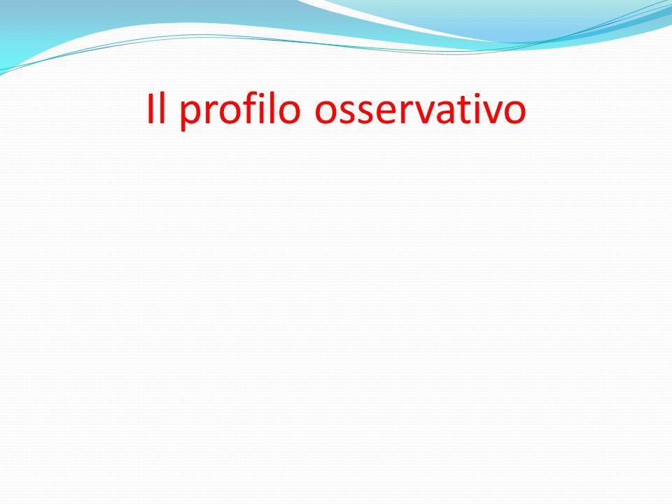 Il profilo osservativo