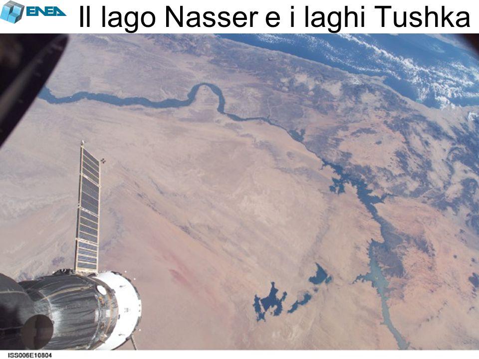 Il lago Nasser e i laghi Tushka