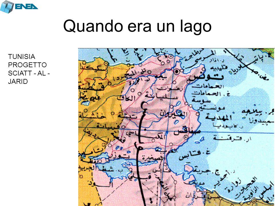 Quando era un lago TUNISIA PROGETTO SCIATT - AL - JARID