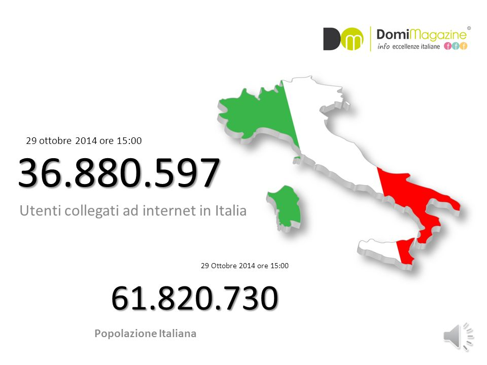 Utenti collegati in internet in Europa 520.381.481