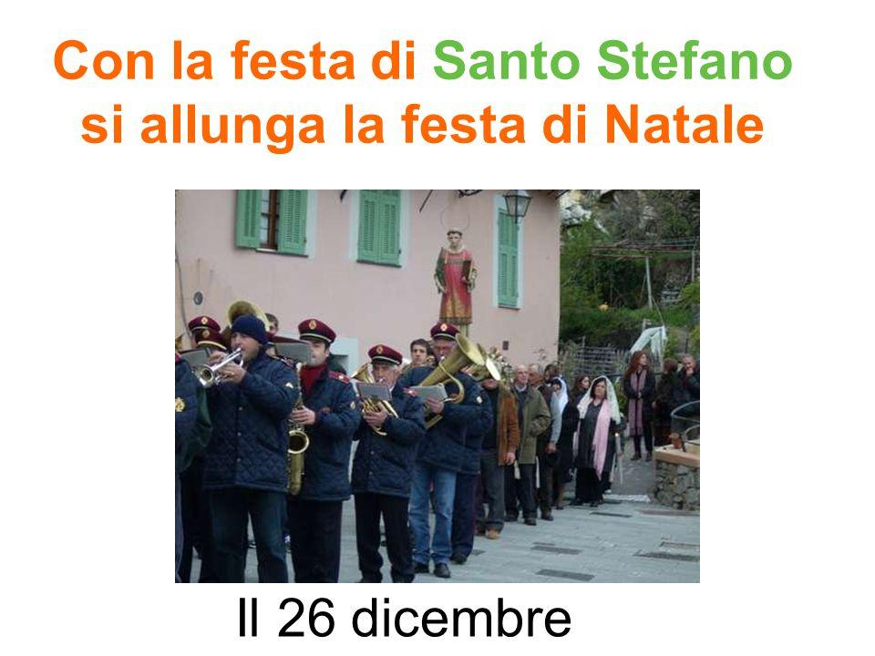 Con la festa di Santo Stefano si allunga la festa di Natale Il 26 dicembre