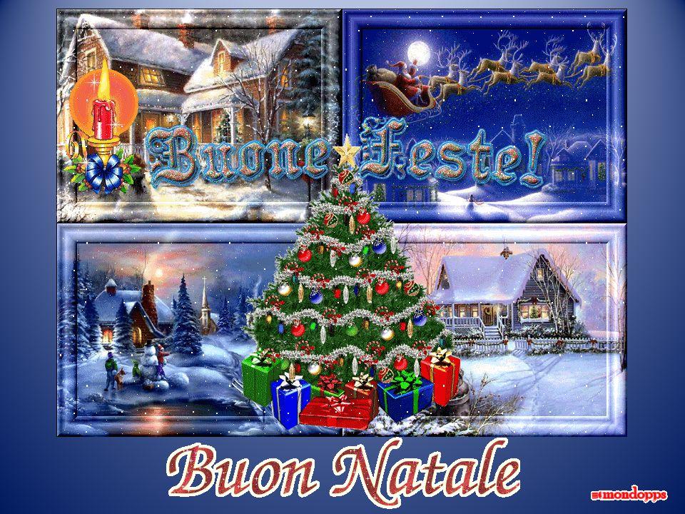 Babbo Natale viene di notte, viene in silenzio a mezzanott e. Dormono tutti i bimbi buoni e nei lettini sognano i doni…