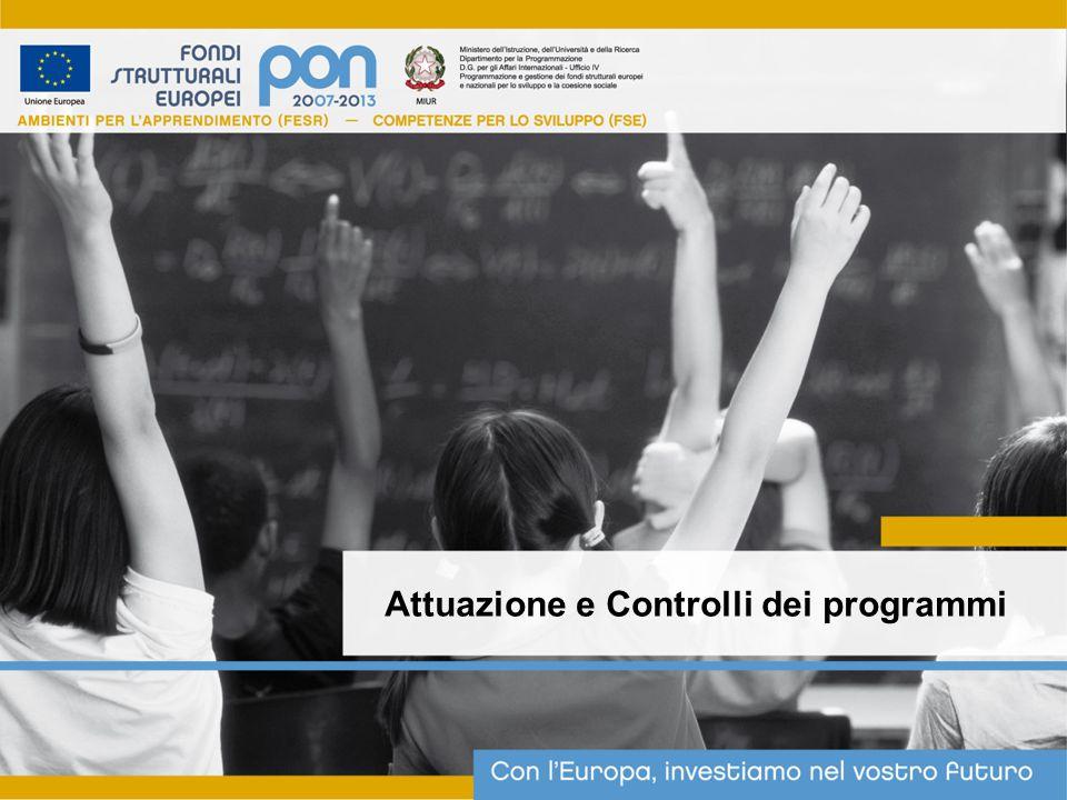 Attuazione e Controlli dei programmi