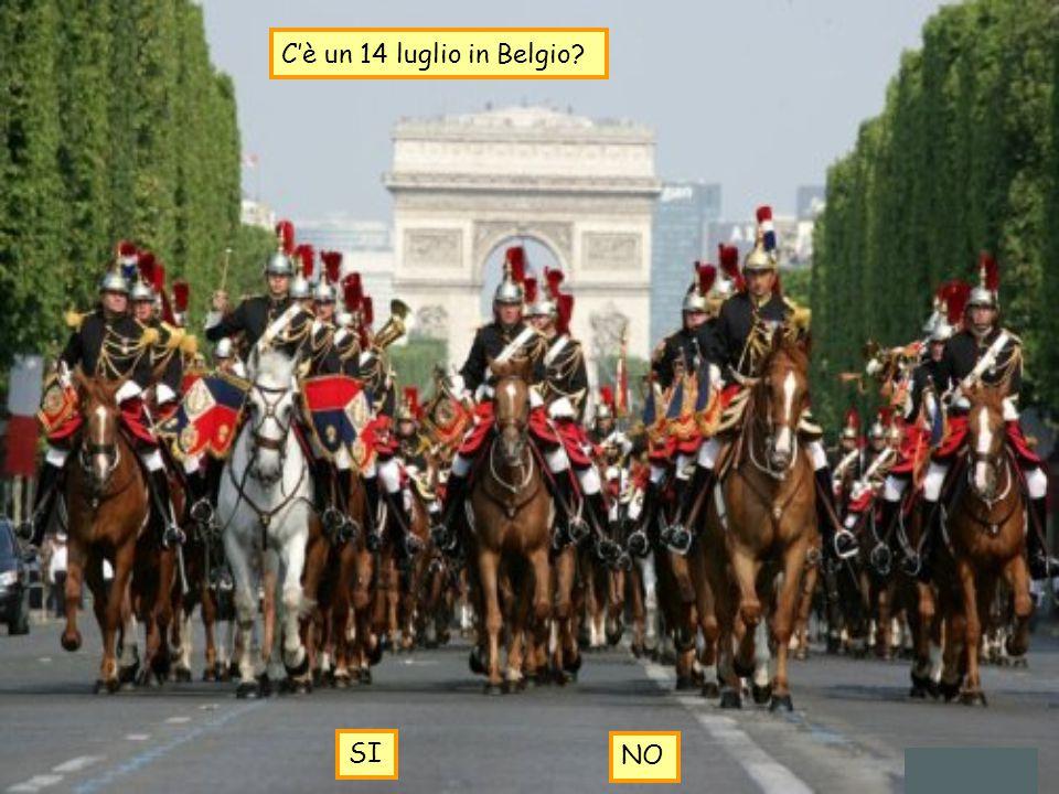 C'è un 14 luglio in Belgio? SI NO
