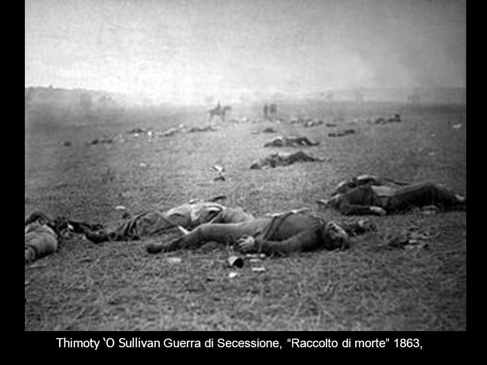 Thimoty 'O Sullivan Guerra di Secessione, Raccolto di morte 1863,