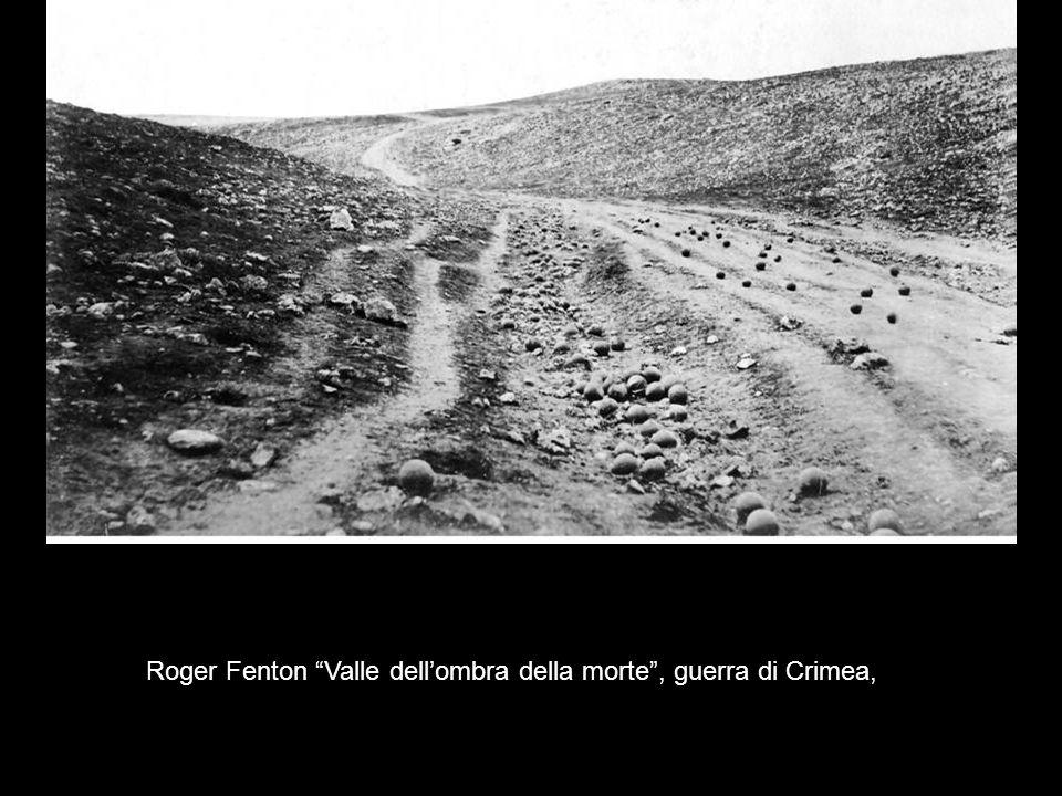 Roger Fenton Valle dell'ombra della morte , guerra di Crimea,