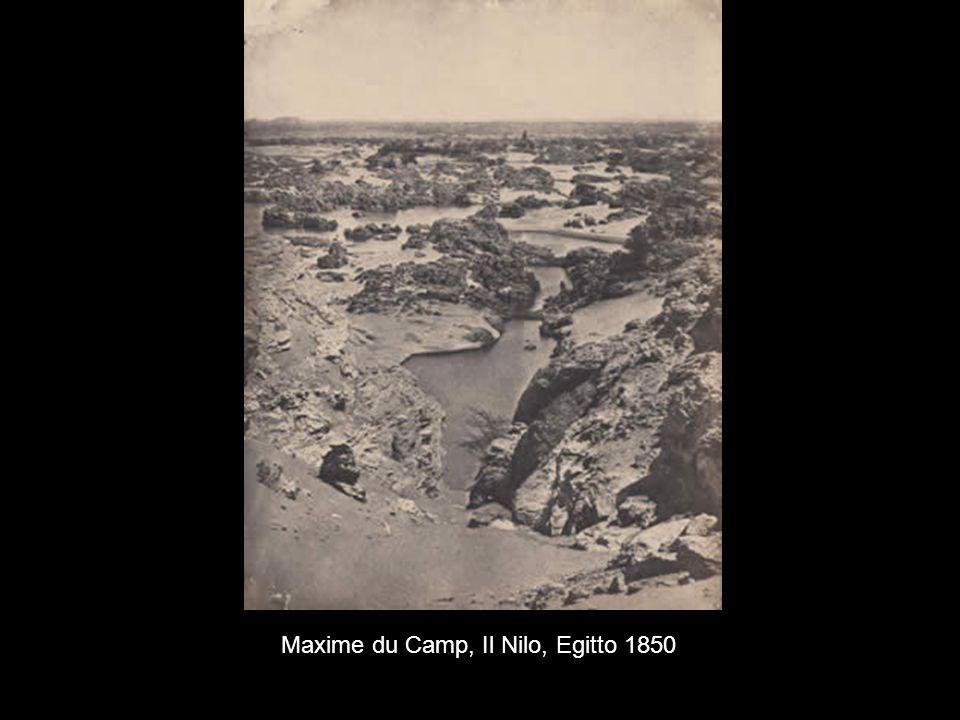 Maxime du Camp, Il Nilo, Egitto 1850