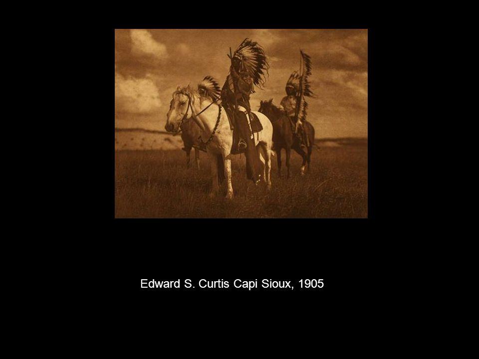 Edward S. Curtis Capi Sioux, 1905