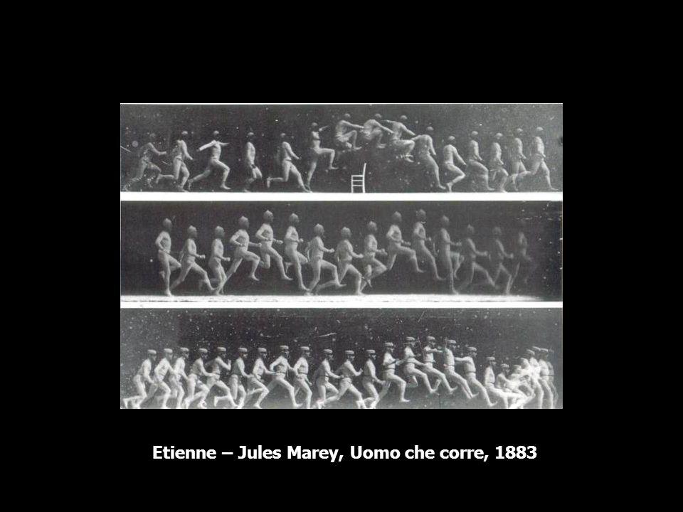 Etienne – Jules Marey, Uomo che corre, 1883