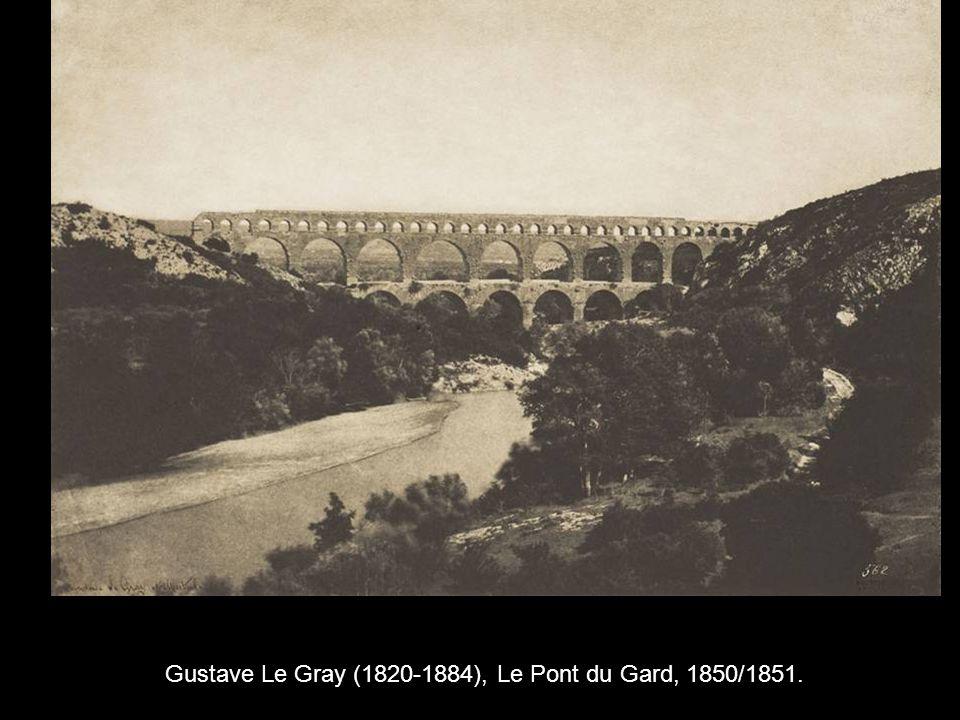 Gustave Le Gray (1820-1884), Le Pont du Gard, 1850/1851.