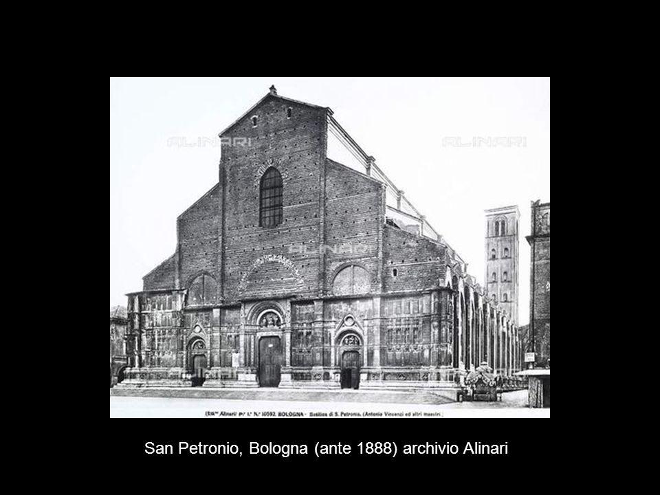 San Petronio, Bologna (ante 1888) archivio Alinari
