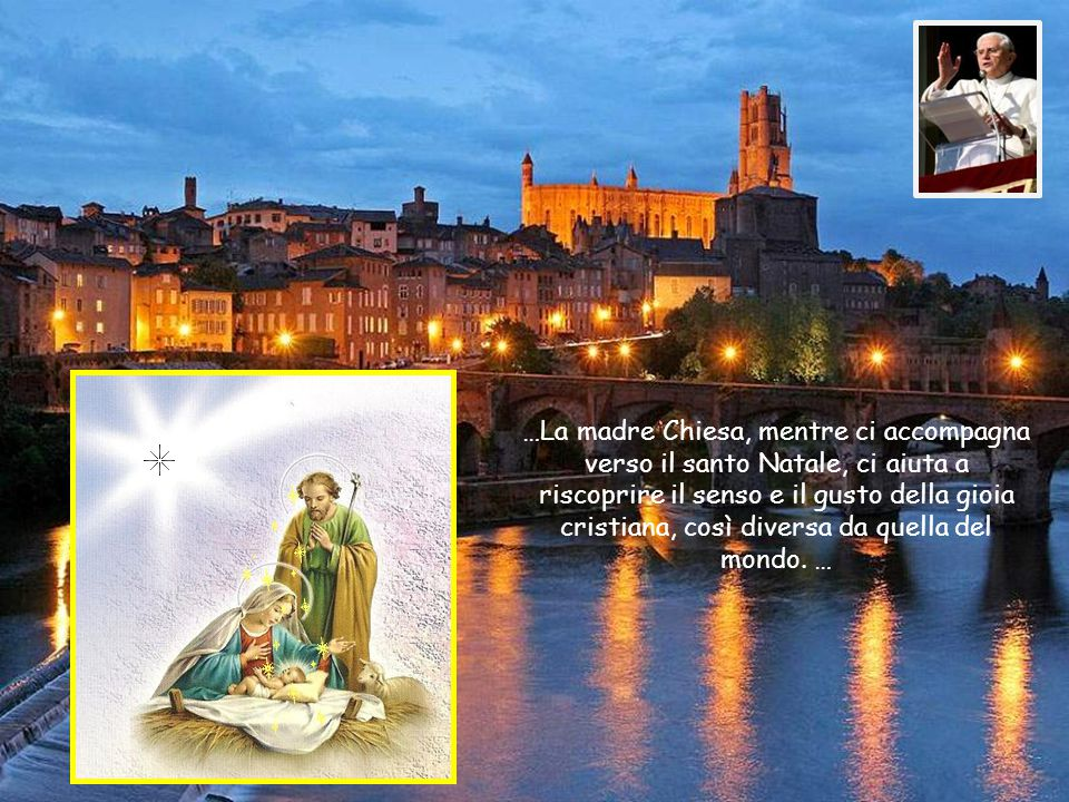 …e soprattutto sono certi che nella loro storia è all'opera Dio, il Quale si è fatto presente nel piccolo Gesù.