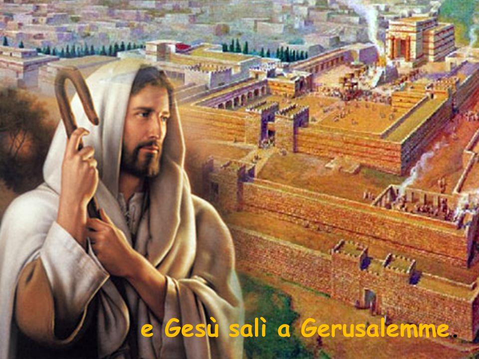 Trovò nel tempio gente che vendeva buoi, pecore