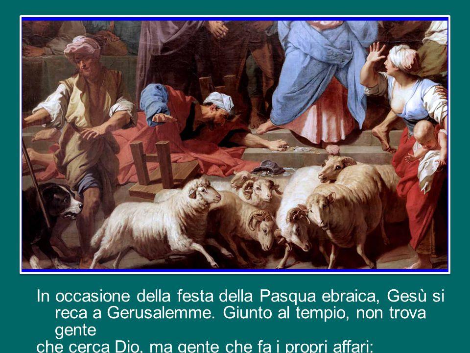In occasione della festa della Pasqua ebraica, Gesù si reca a Gerusalemme.