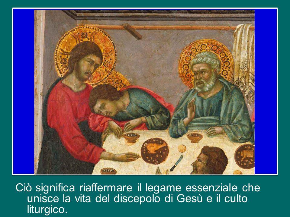 La Costituzione conciliare Sacrosanctum Concilium definisce la liturgia come «la prima e indispensabile fonte alla quale i fedeli possono attingere il