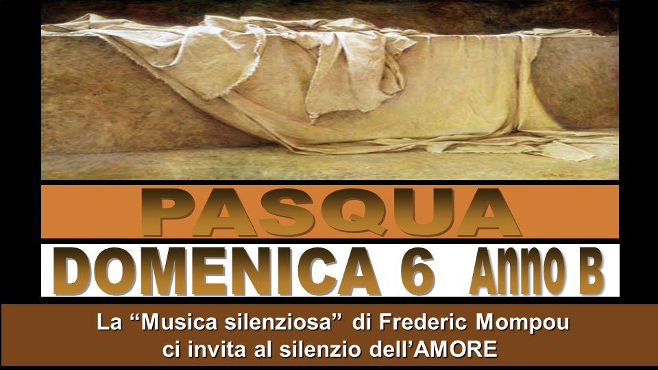 La Musica silenziosa di Frederic Mompou ci invita al silenzio dell'AMORE La Musica silenziosa di Frederic Mompou ci invita al silenzio dell'AMORE
