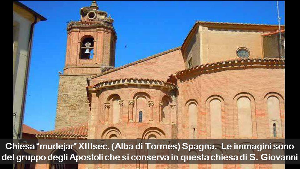 Chiesa mudejar XIIIsec.(Alba di Tormes) Spagna.