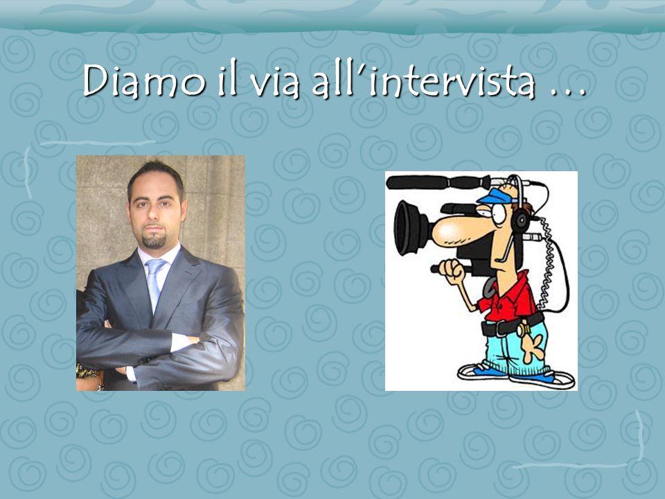 Ciao Orazio, parlami un po' della tua carriera scolastica e poi lavorativa.