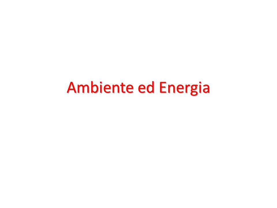 Ambiente ed Energia
