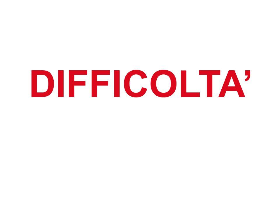 11 DIFFICOLTA'