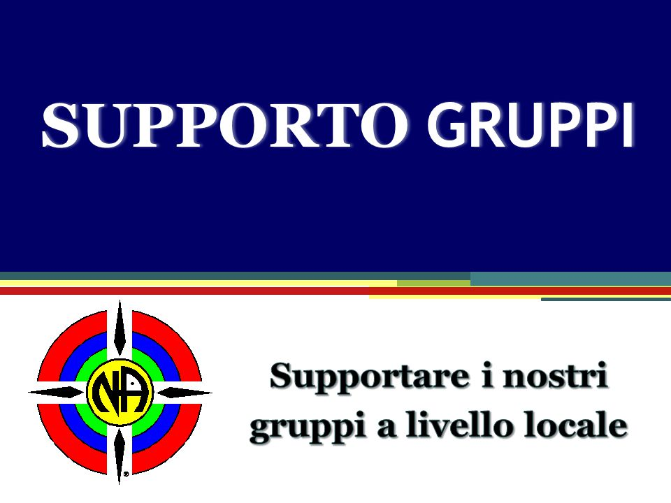 Group Support SUPPORTO GRUPPI