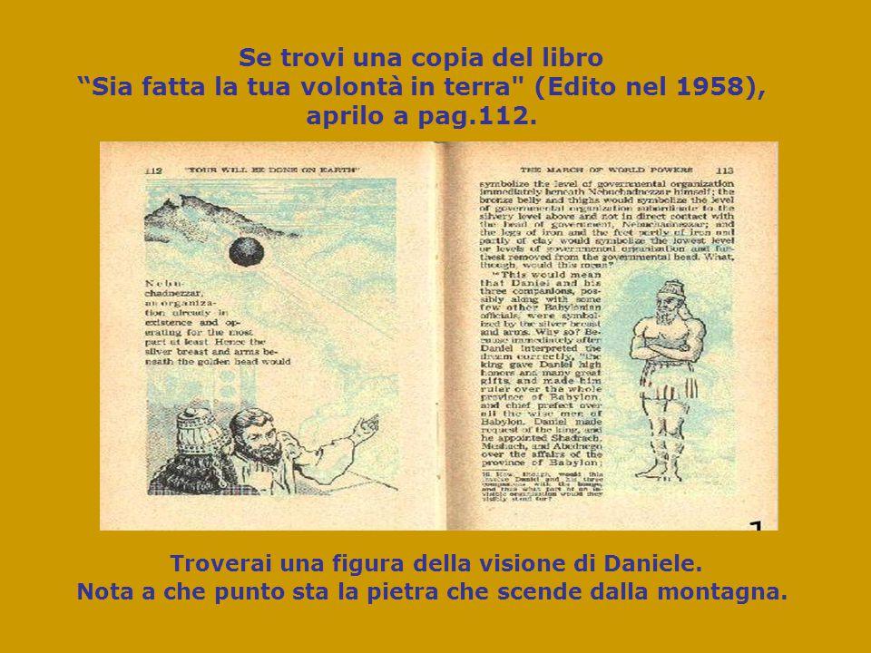 Se trovi una copia del libro Sia fatta la tua volontà in terra (Edito nel 1958), aprilo a pag.112.