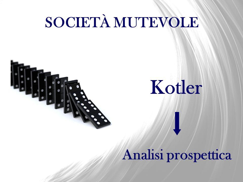 SOCIETÀ MUTEVOLE Kotler Analisi prospettica