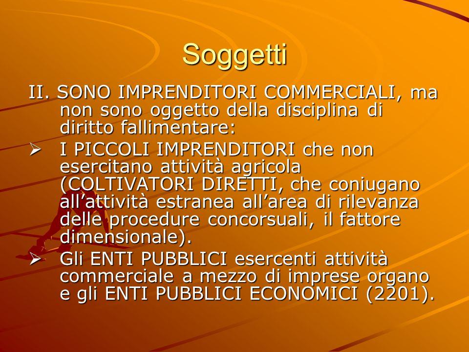 Soggetti II.