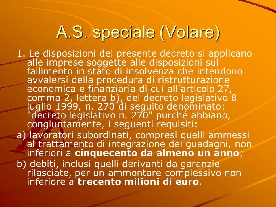A.S. speciale (Volare) 1.