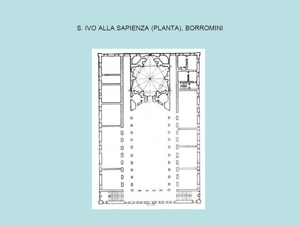 S. IVO ALLA SAPIENZA (PLANTA), BORROMINI