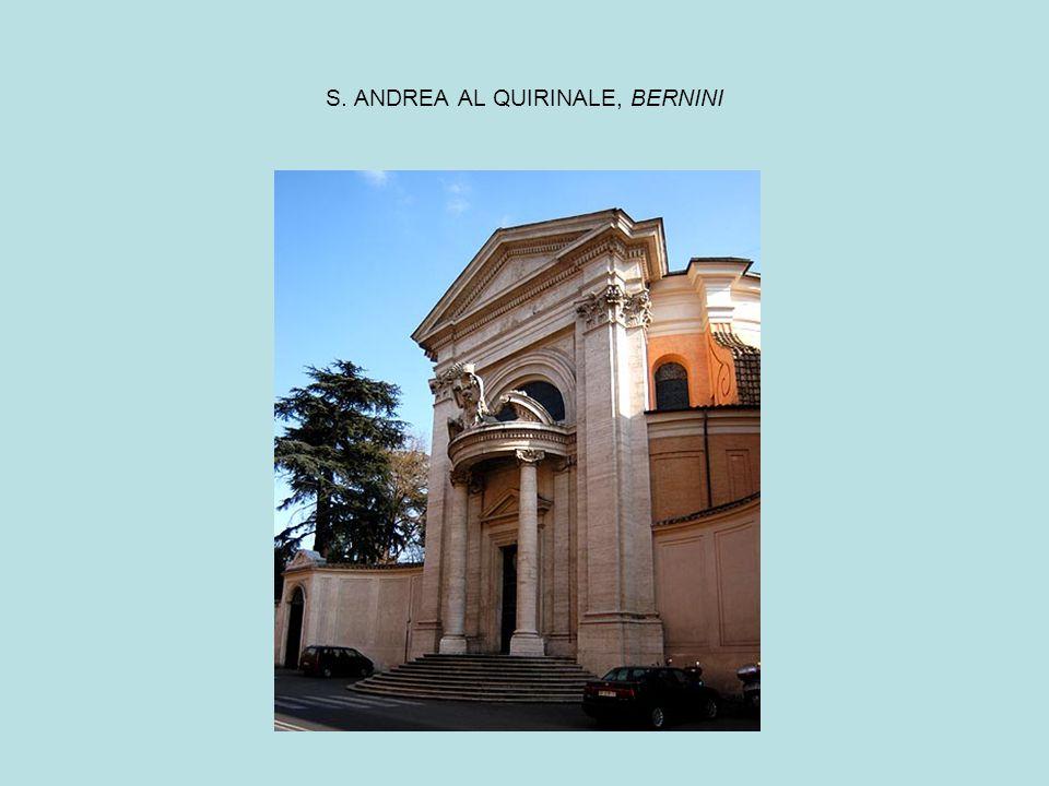 S. ANDREA AL QUIRINALE, BERNINI