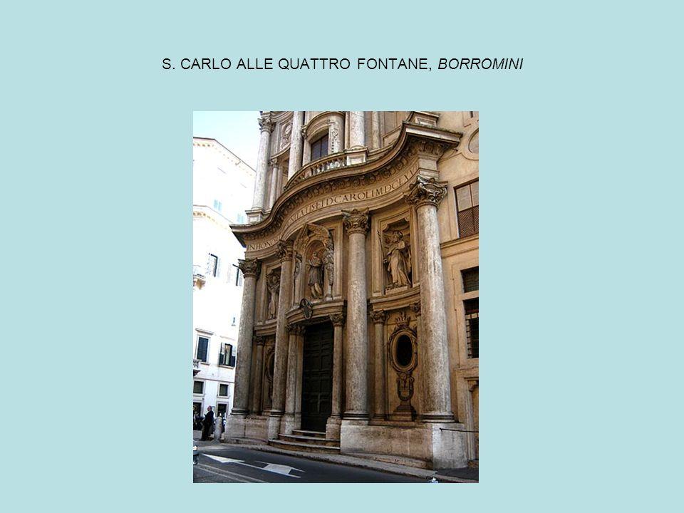 S. CARLO ALLE QUATTRO FONTANE, BORROMINI