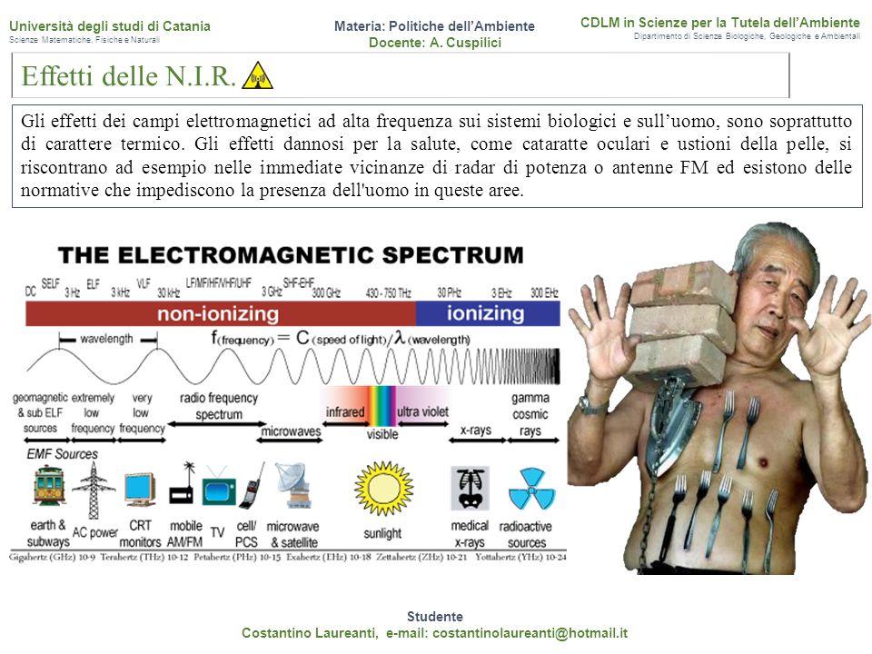 Gli strumenti utilizzati rilevano la misura delle onde elettromagnetiche indipendentemente dalla tipologia e dalla frequenza delle sorgenti.