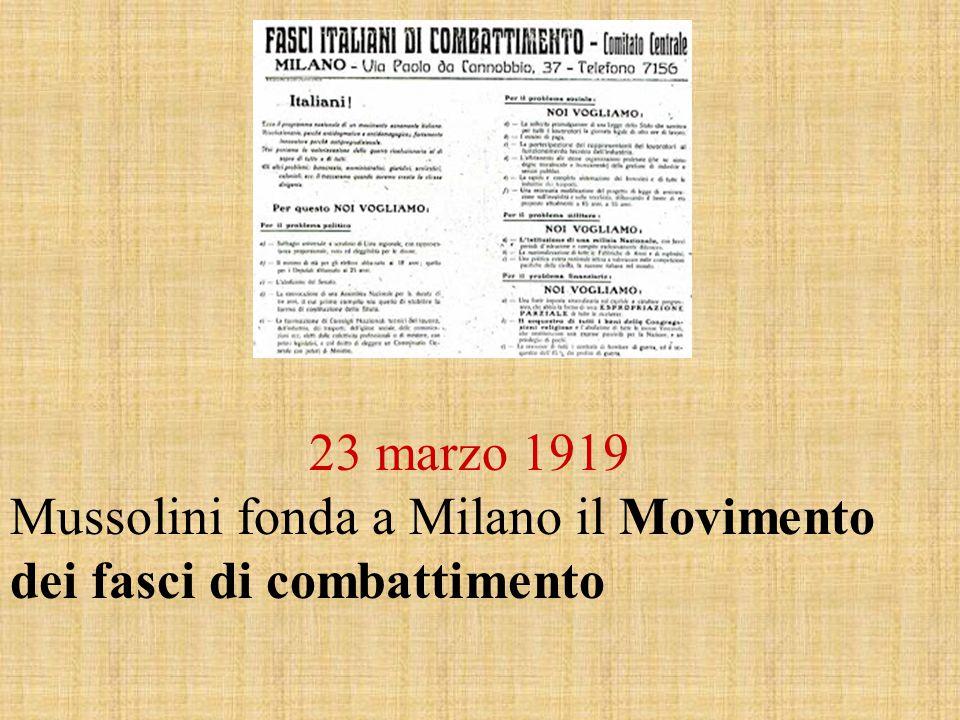 Italiani.Ecco il programma di un movimento genuinamente italiano.