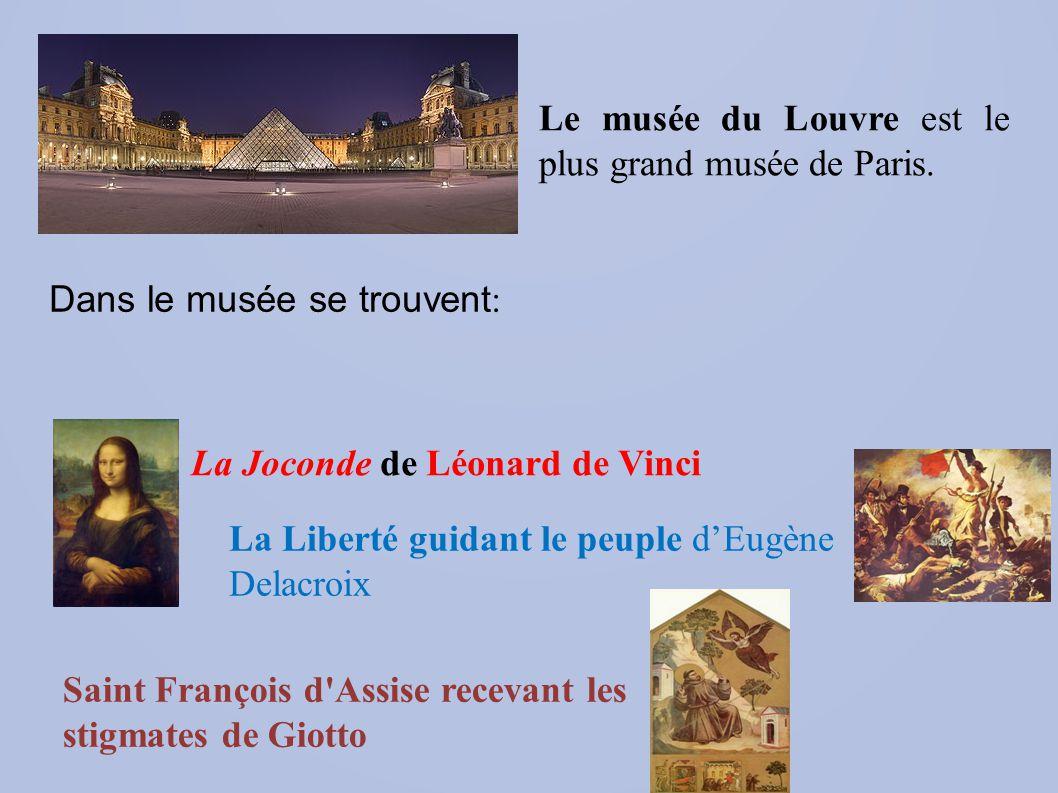 Le musée d'Orsay est un musée national situé à Paris.