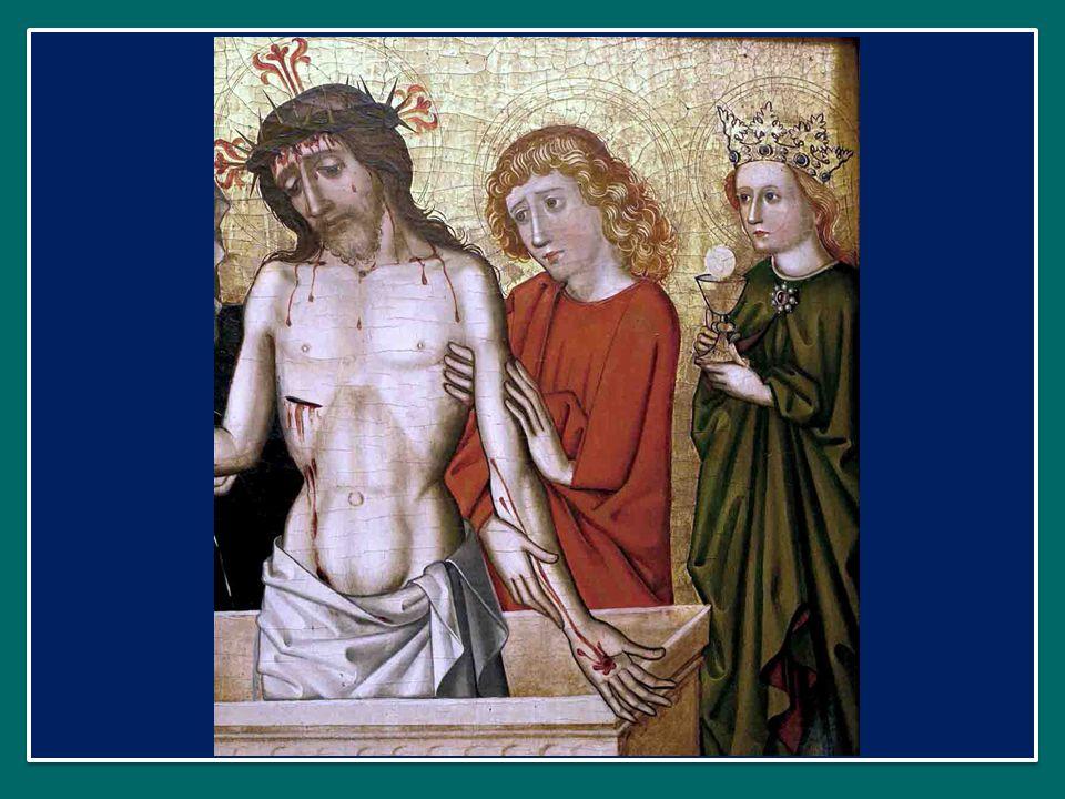 Passio Christi, conforta me. O bone Jesu, exaudi me. Passione di Cristo, fortificami. Oh buon Gesù, esaudiscimi. Intra tua vulnera absconde me. Ne per