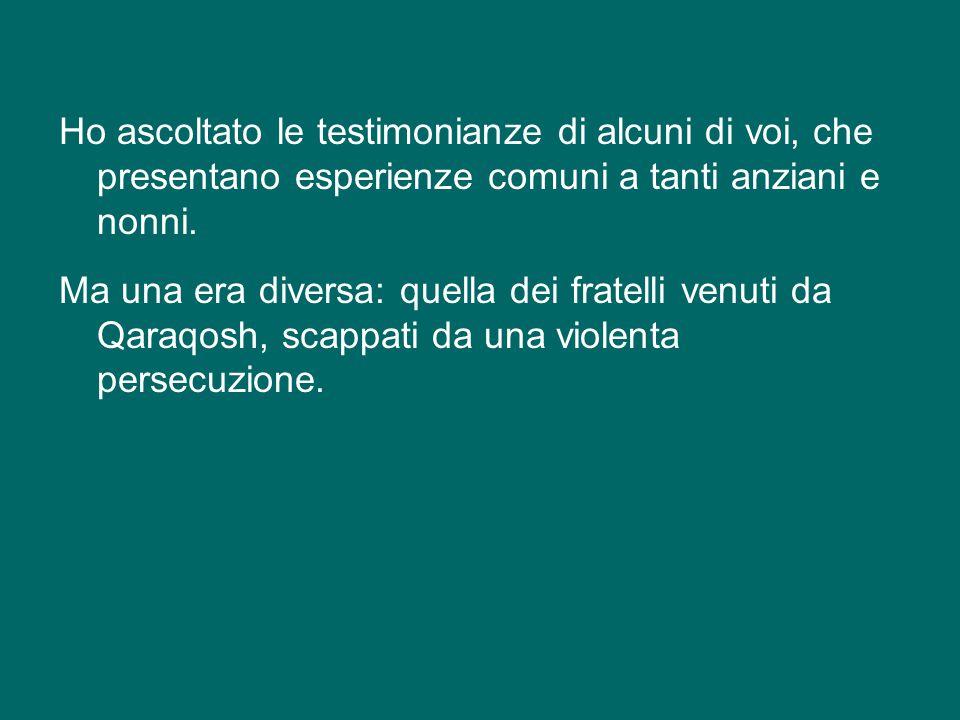 Ringrazio specialmente il Papa Emerito Benedetto XVI per la sua la presenza. Io ho detto tante volte che mi piaceva tanto che lui abitasse qui in Vati