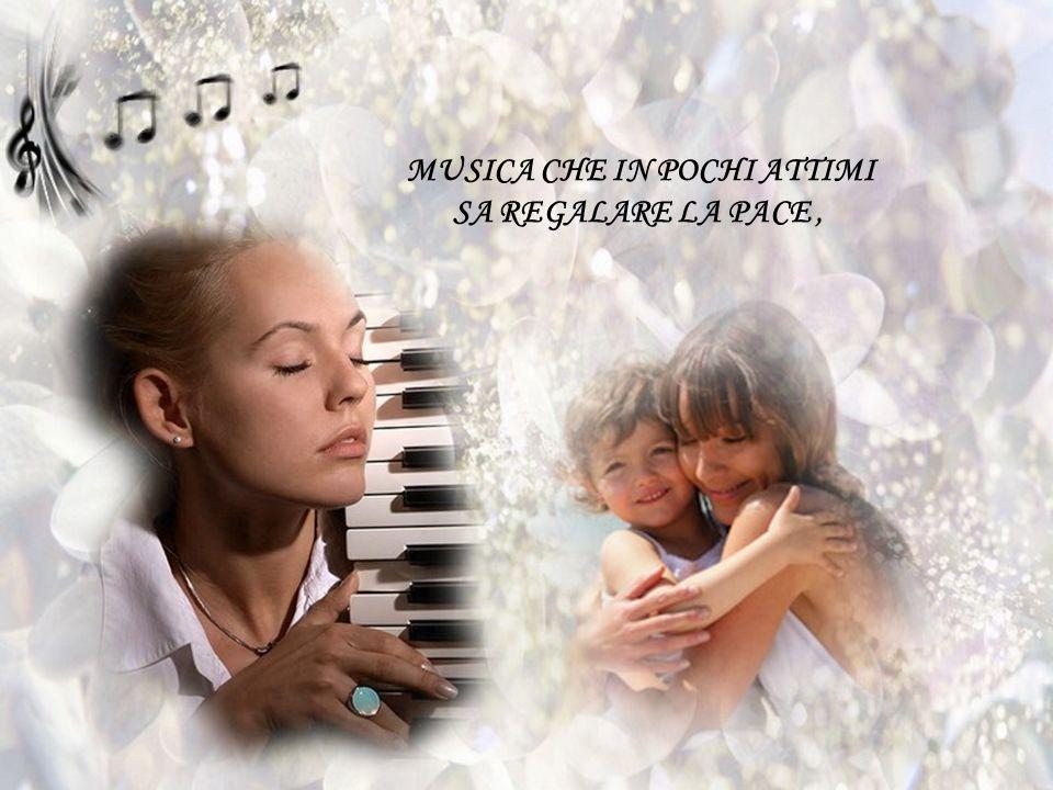 COMPONENDO UNA MUSICA DOLCE E SOAVE ;