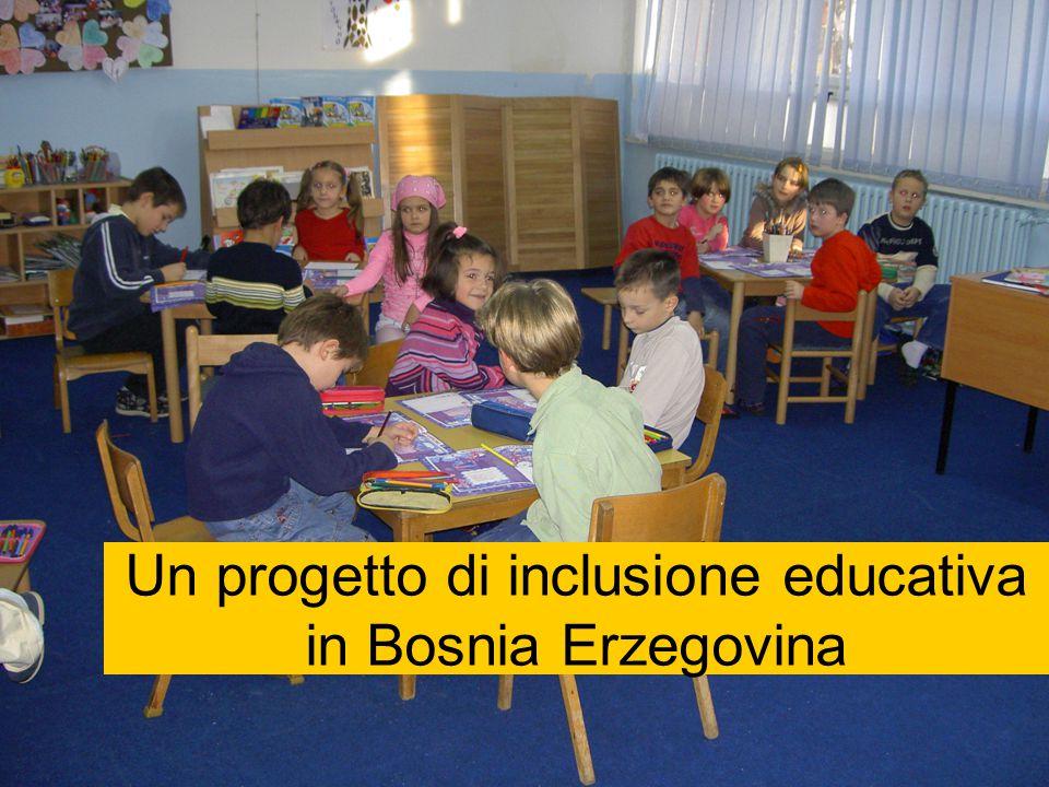 Un progetto di inclusione educativa in Bosnia Erzegovina