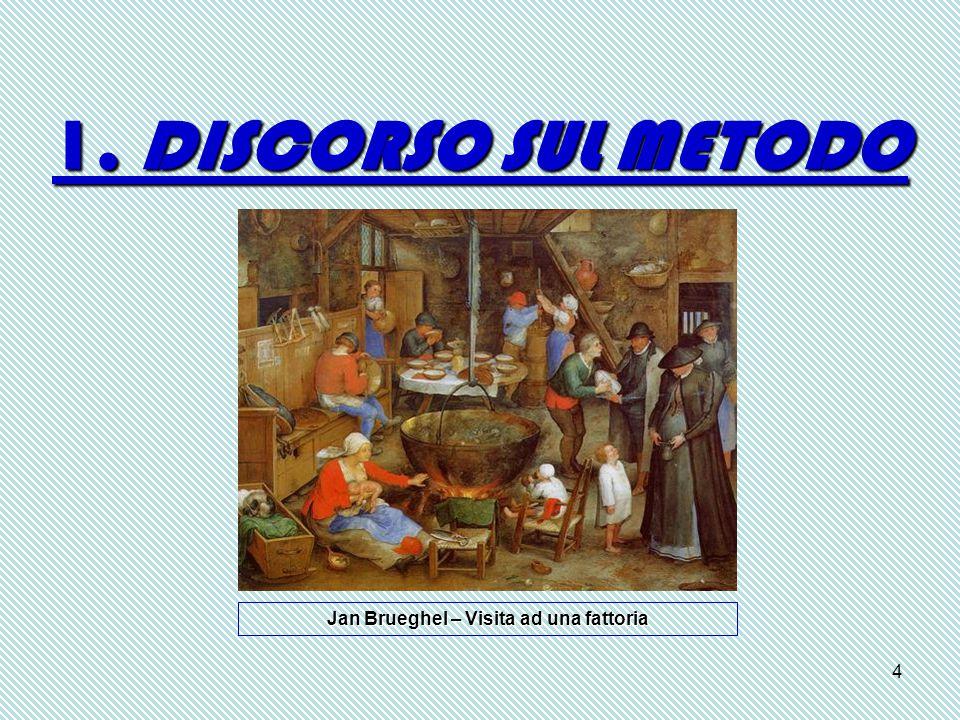4 1. DISCORSO SUL METODO Jan Brueghel – Visita ad una fattoria
