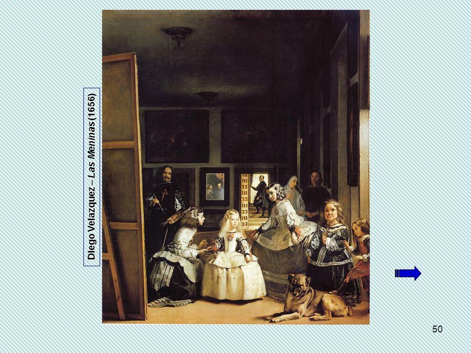 50 Diego Velazquez – Las Meninas (1656)