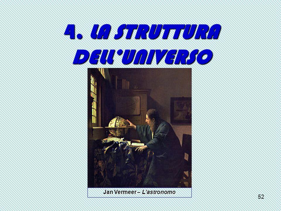 52 4. LA STRUTTURA DELL'UNIVERSO Jan Vermeer – L'astronomo