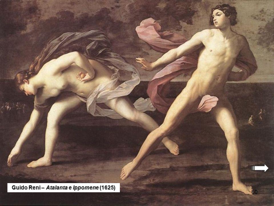 60 Guido Reni – Atalanta e Ippomene (1625)