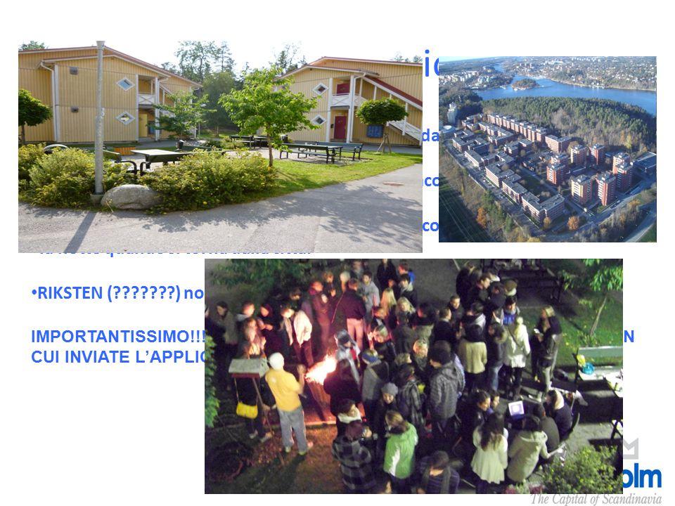 Accommodation La spesa si aggira attorno ai 300-400 euro, a seconda dell'alloggio. LAPPIS: molto vicino al centro ma lontano dalla facoltà. BJORNKULLA