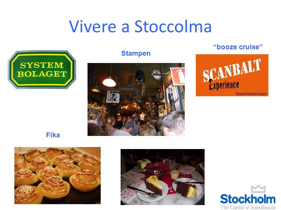 "Vivere a Stoccolma Fika ""booze cruise"" Stampen"
