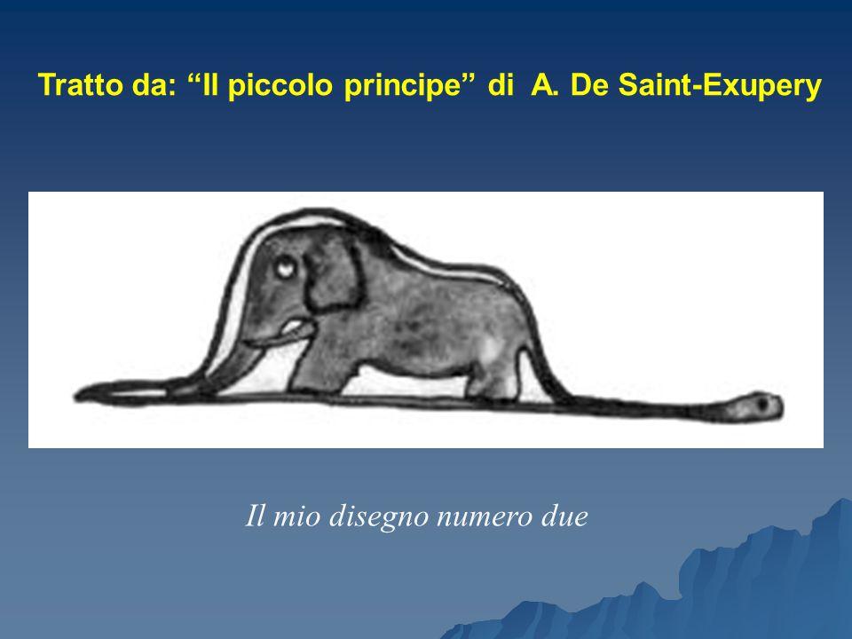 """Il mio disegno numero due Tratto da: """"Il piccolo principe"""" di A. De Saint-Exupery"""