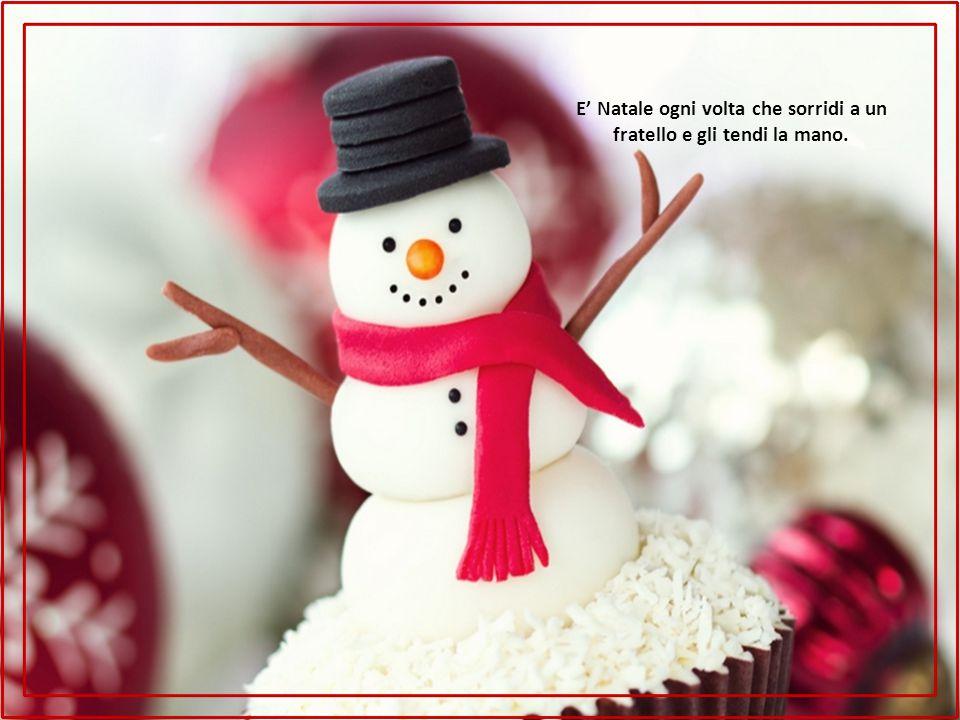 E' Natale AVANZAMENTO MANUALE